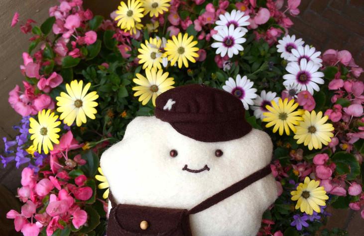 香川で kumori がはじまって、うれしい、てがみぐも