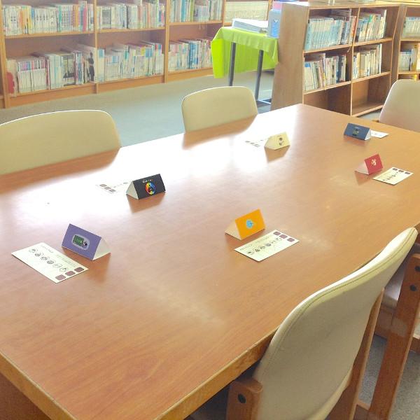 6人グループになって、本への想いを伝え合いました。