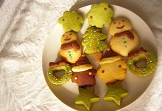 クリスマスのくもりクッキー